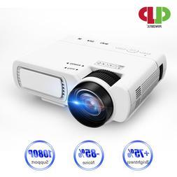 POWERFUL T5 mini <font><b>Projector</b></font> Full-HD <font
