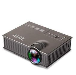 GAO UC40+ Mini Portable Home Miniature LED Projector, Portab