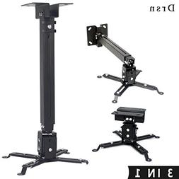 Drsn Universal Projector Ceiling Mount Adjustable Wall Mount