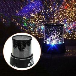 US Car and Home Ceiling Projector Star Light USB Night Roman