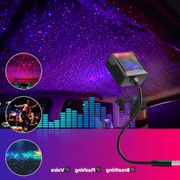 USB Car Interior Roof LED Star Night Light Atmosphere Starry