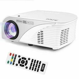 Pyle Video Projector 1080p Full HD Digital Multimedia Mini H