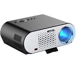 Video Projector Portable, CiBest GP90 LCD Projector HD 1080p