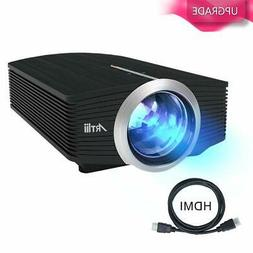 Video Projector, Artlii Portable Smartphone Projector with 1