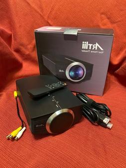 Video Projector, Artlii Portable Smartphone Projector