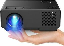 """Video Projector -DBPOWER RD810 Portable Mini Projector, 176"""""""