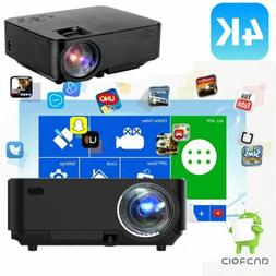 Wifi LED Projector Full HD 1080P Home Cinema Movie Projector