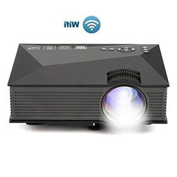 WiFi Video Projector, XINDA 2000 Lumens Video Projector with
