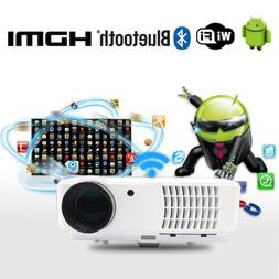 WIFI Projector Bluetooth Android 1080P FULL HD Wireless LED