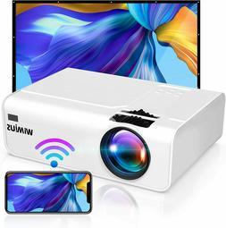 Wireless Bluetooth 4K Full HD 7500 Lumens Home Movie Video L