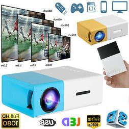 1080p Full HD LED Portable Projector Smart Home Theater Cine