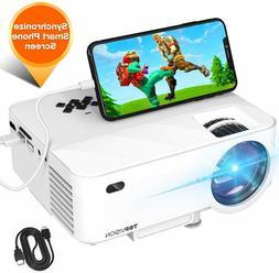 Full HD 1080P Wireless WiFi 3600 L Portable Mini Home Theate