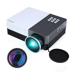 Crenova XPE350 Mini Portable Projector 480*320 Resolution 15