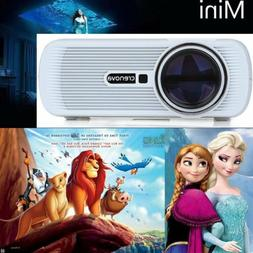 Crenova XPE460 HD 1080P Full LED Projector Home Theater Cine