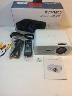 Crenova XPE460 LCD Projector w/ Remote