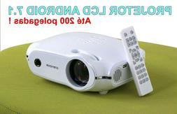 Crenova XPE460 LED Video Projector Home Projector