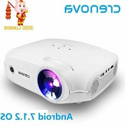 CRENOVA XPE498 UP SMART Android 7.1.2 LED Projector Full HD