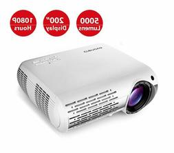 Crenova XPE660 Home Entertainment Video Projector Full 1080P
