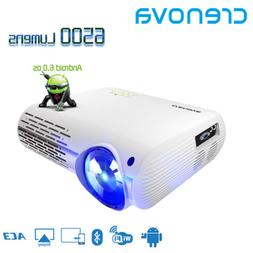Crenova XPE660 projector HD 1080P 4K*2K LED WiFi Android 6.0