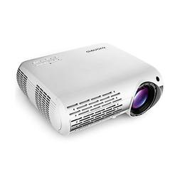 Crenova XPE660 Video Projector, True 5000 Lumens Powerful Mu