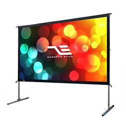 Elite Screens Yard Master 2 90 inch 16 9 Foldable Folding Fr