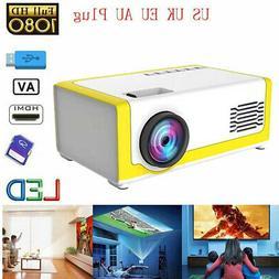 YG-300 1080P Home Theater Cinema USB AV Mini Portable Full H