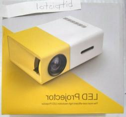 YG300 Mini Portable LED Video Projector AV USB SD HDMI Home