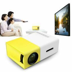 yg300 mini portable multimedia led lcd projector