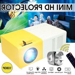 YG300 Portable Mini 1080P Home Theater Cinema USB HDMI AV SD