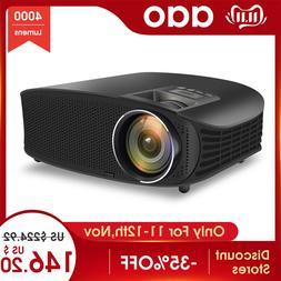 AAO YG600 HD <font><b>Projector</b></font> 4000 Lumens LCD B